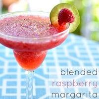 Blended Raspberry Margarita | Real Housemoms