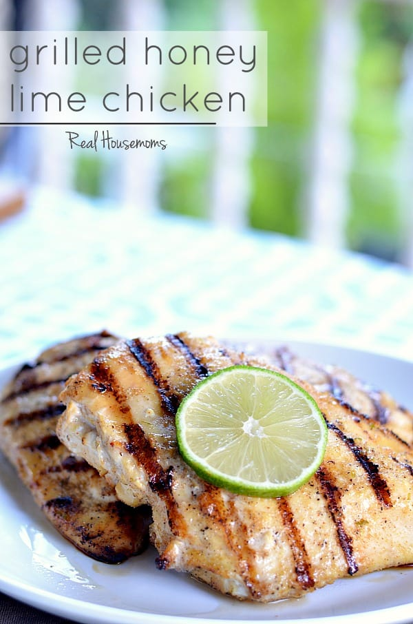 This GRILLED HONEY LIME CHICKEN is a super tasty dish that really ...