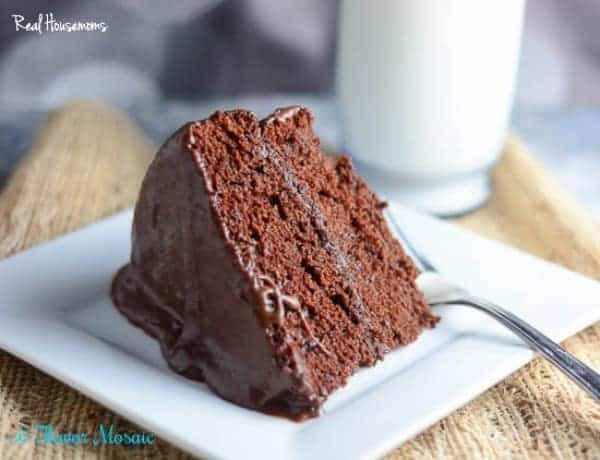 Moist Chocolate Layer Cake | Real Housemoms
