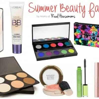 Summer Beauty Faves
