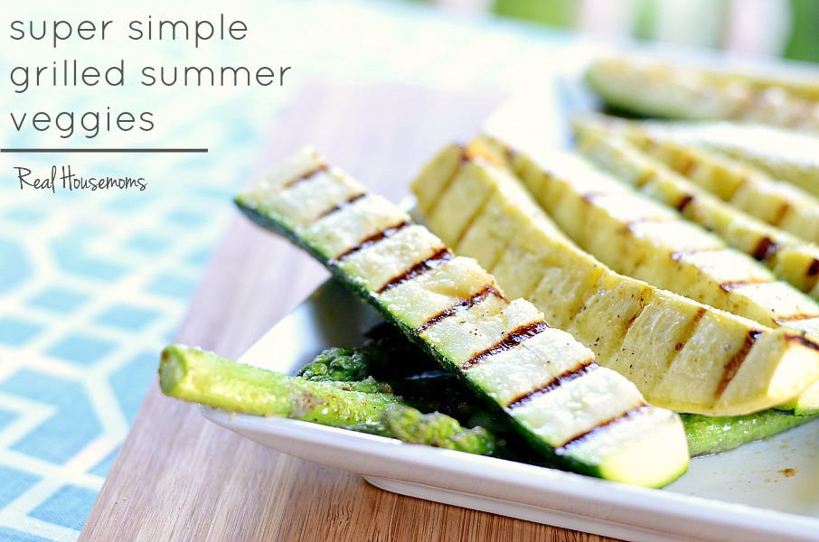 Super Simple Grilled Summer Veggies ⋆ Real Housemoms