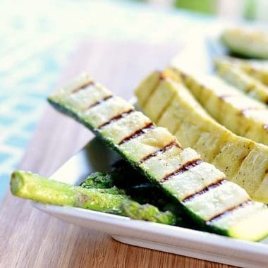 Super Simple Grilled Summer Veggies