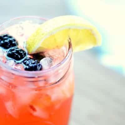Tequila Blackberry Lemonade