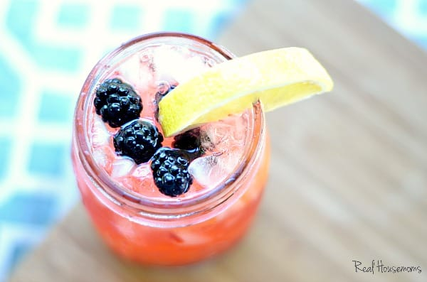 Tequila Blackberry Lemonade | Real Housemoms