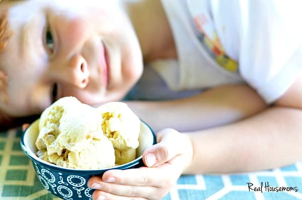 apple pie ice cream | Real Housemoms