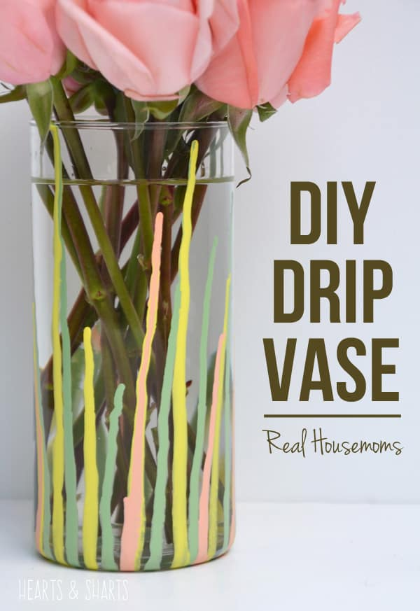 DIY Drip Vase | Real Housemoms