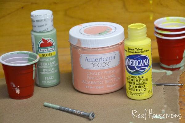 DIY Paint Drip Vase | Real Housemoms
