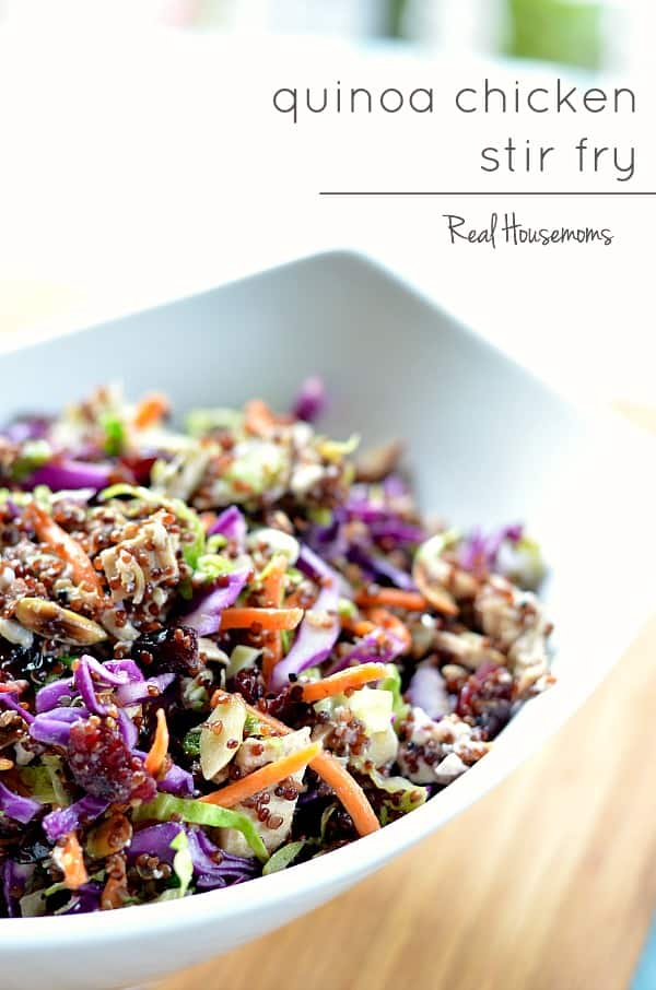 quinoa chicken stir fry | Real Housemoms