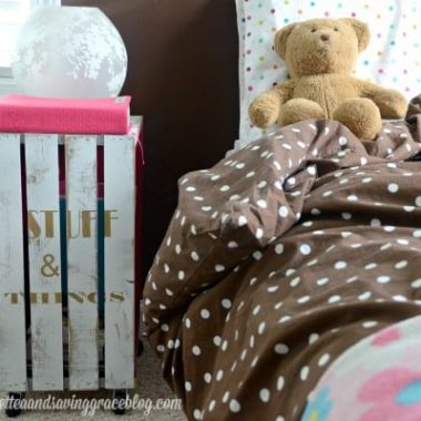 Boho Chic Bedside Table | Real Housemoms