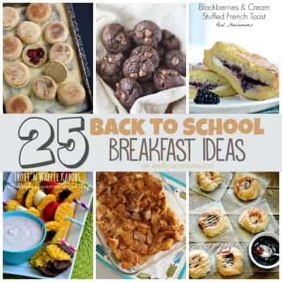 25 Back to School Breakfast Ideas