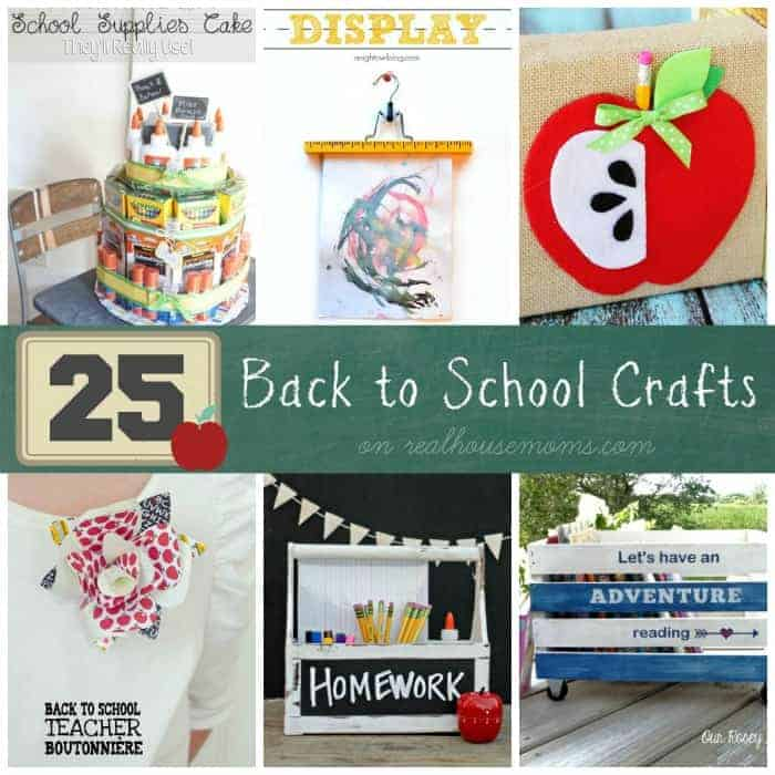 25 Back to School Crafts | Real Housemoms