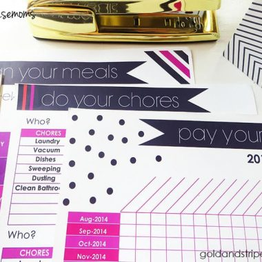 3 Free Printables for the Busy Mom!