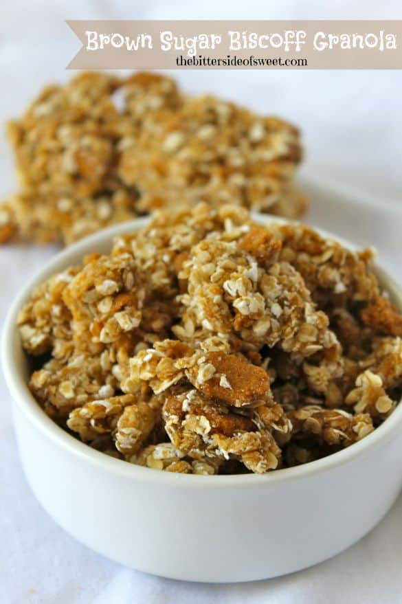 Brown Sugar Biscoff Granola
