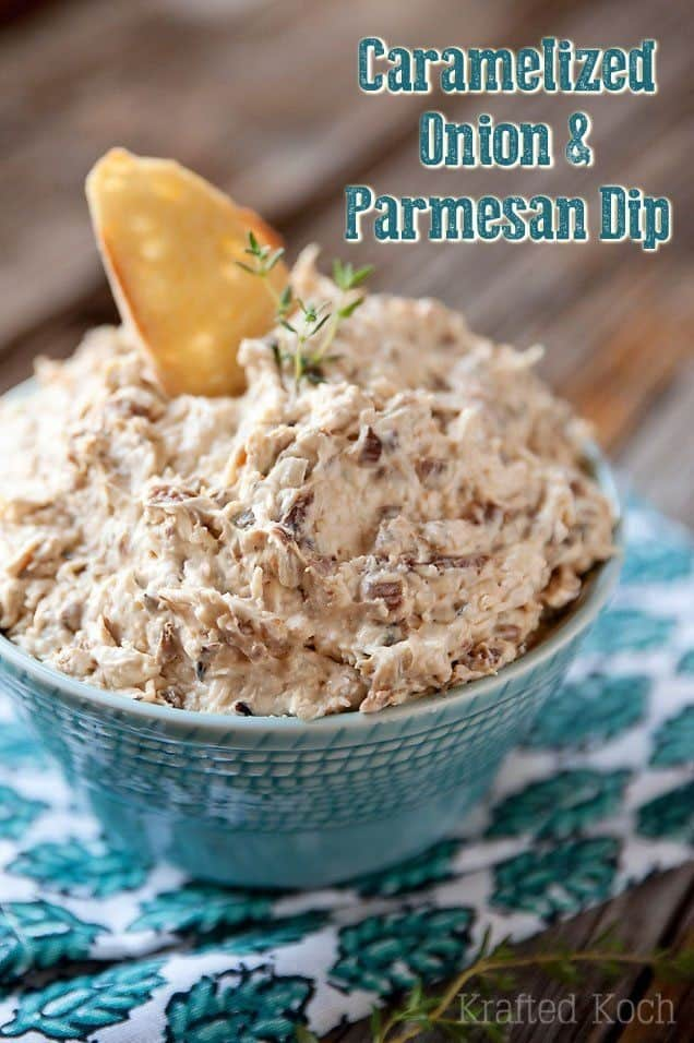 Caramelized Onion & Parmesan Dip