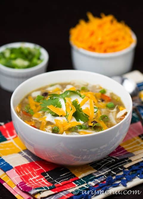 Crockpot Enchilada Soup