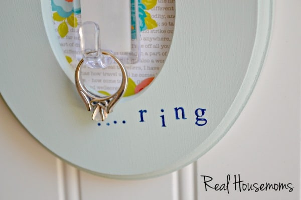 Do It Yourself Engagement Ring Holder | Real Housemoms