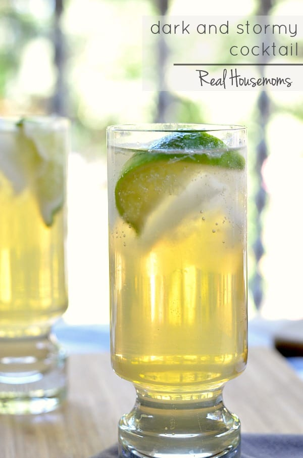 DARK AND STORMY COCKTAIL is a fun twist on a Moscow Mule. This drink ...