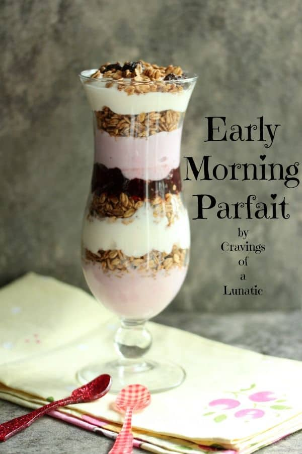 Early Morning Parfaits
