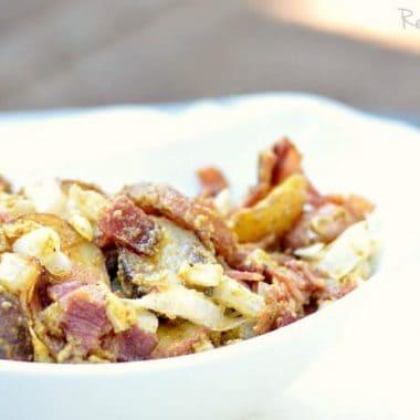 Grilled Potato Salad | Real Housemoms