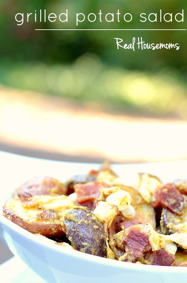 Grilled Potato Salad | Real Housemoms