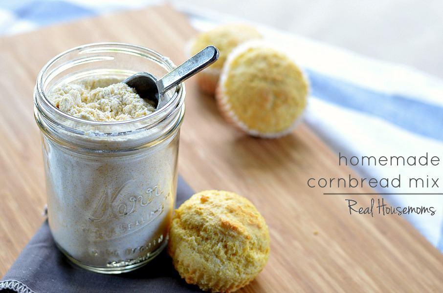 Homemade Cornbread Mix - Real Housemoms
