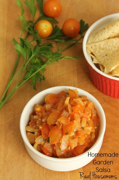 Homemade Garden Salsa | Real Housemoms