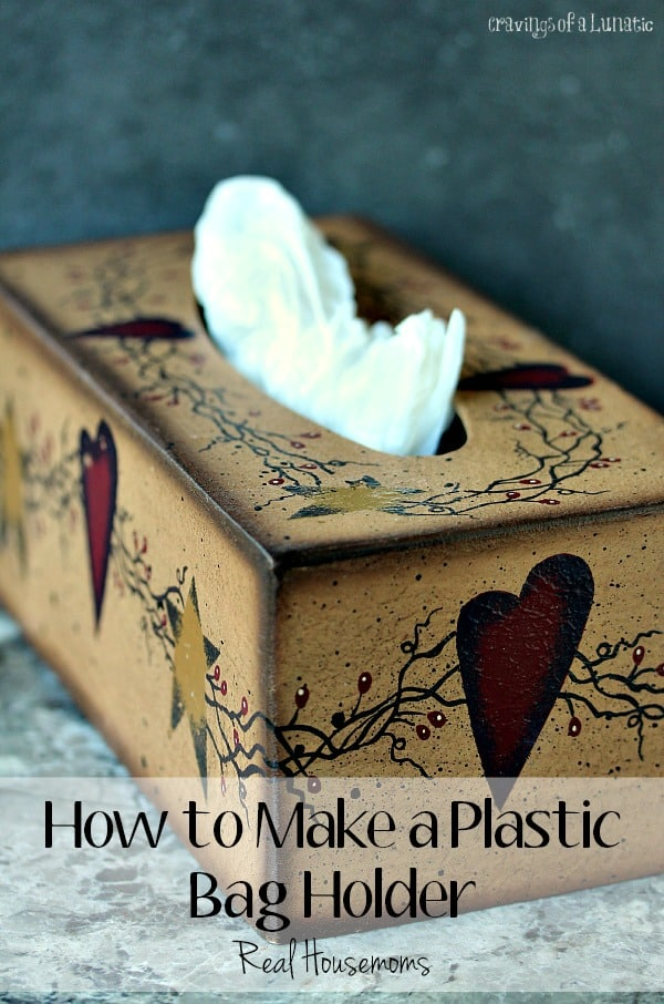 How to Make a Plastic Bag Holder | Real Housemoms