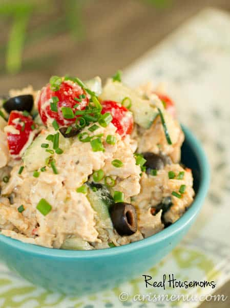 Hummus Chicken Salad | Real Housemoms