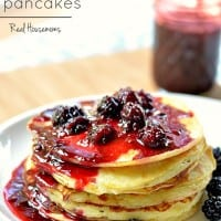 Lemon Ricotta Pancakes | Real Housemoms