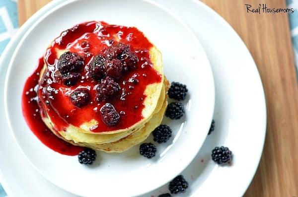 Lemon Ricotta Pancakes | Real Housemoms
