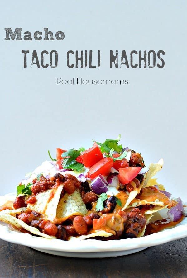 Macho Taco Chili Nachos
