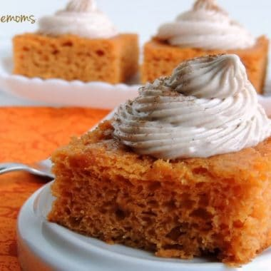 Pumpkin Pie Angel Food Cake