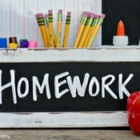 Back to School Homework Station | Real Housemoms