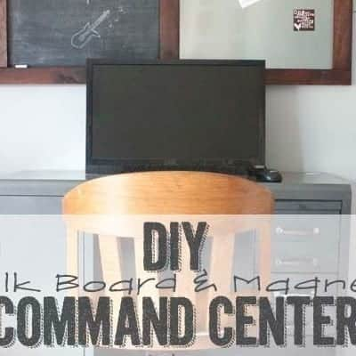 Back to School Command Center