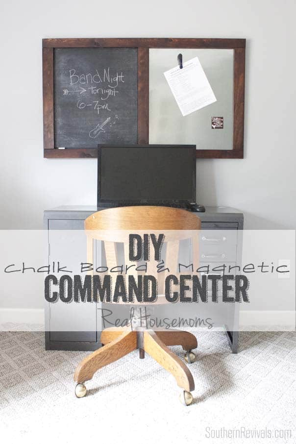 Back to School Message Board + Command Center | Real Housemoms