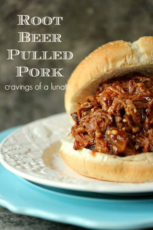 Slow Cooker Root Beer Pulled Pork