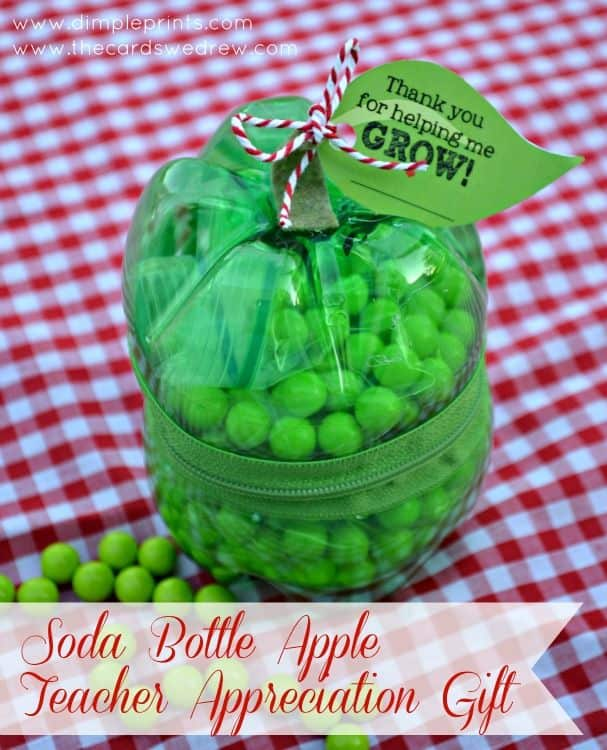 Soda Bottle Apple