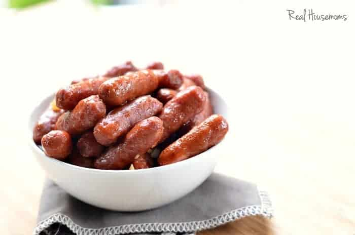 honey garlic lil smokies | Real Housemoms