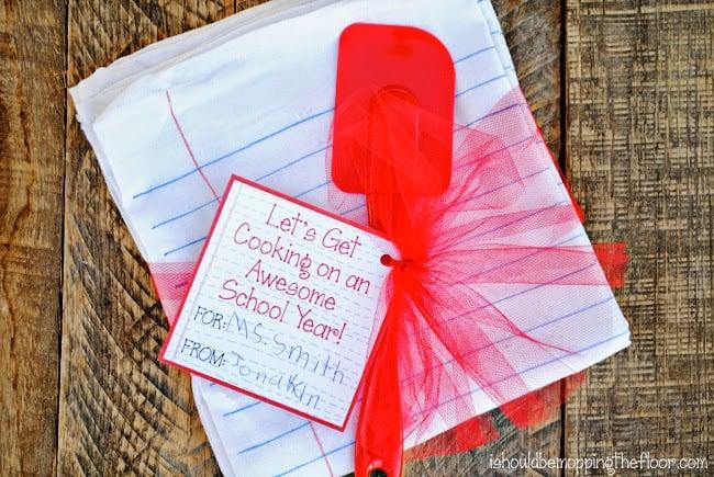 teacher gift towel