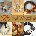 25 Wreaths for Fall