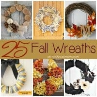 25 Wreaths for Fall SQUARE
