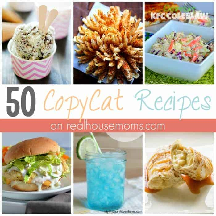 ~50 CopyCat Recipes FEAT