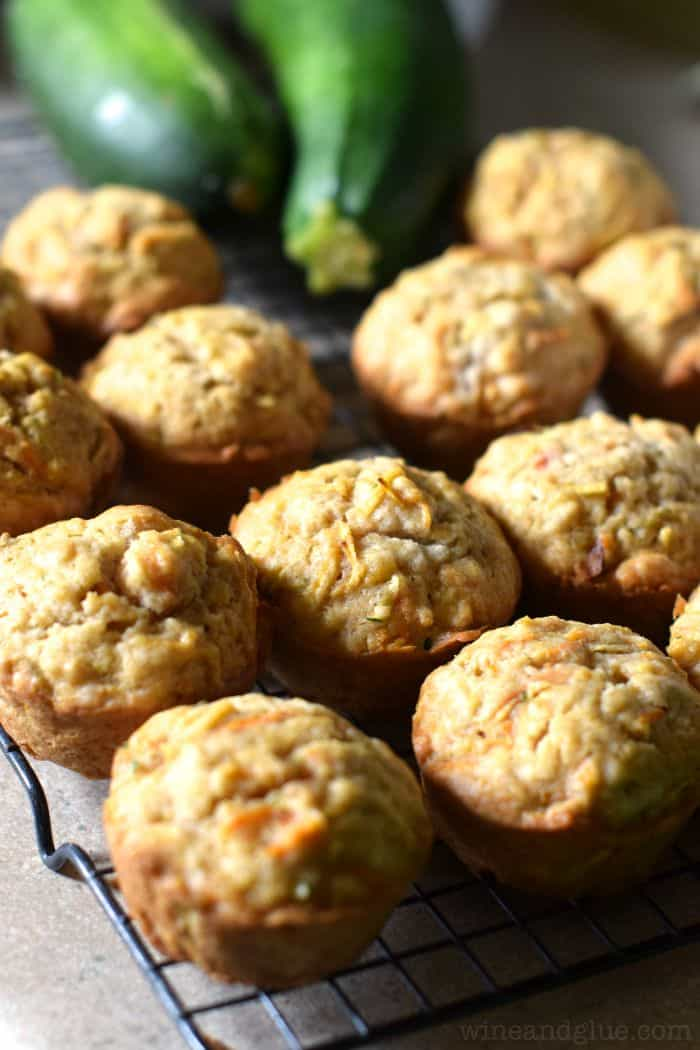 Apple Carrot Zucchini Muffins