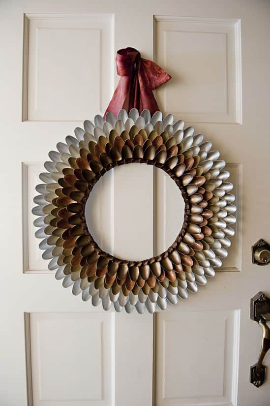 Autumn Spoon Wreath