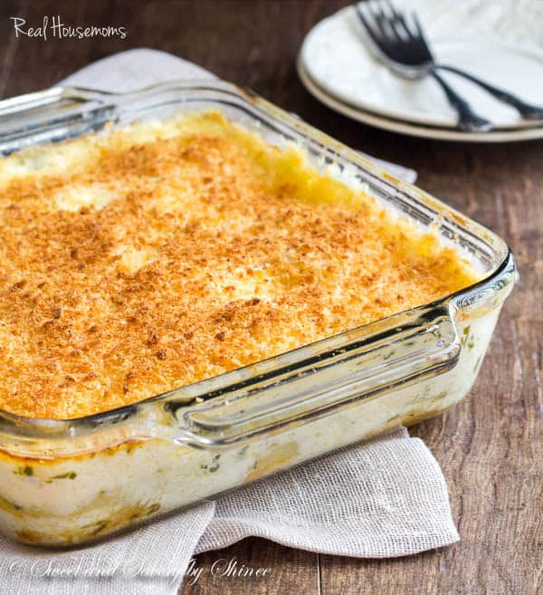 Scalloped Potatoes | Real Housemoms