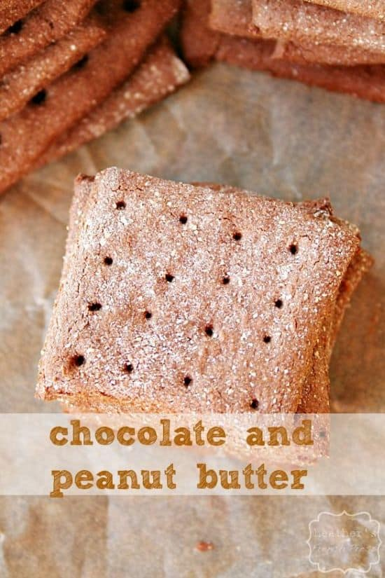 Chocolate Peanut Butter Graham Crackers