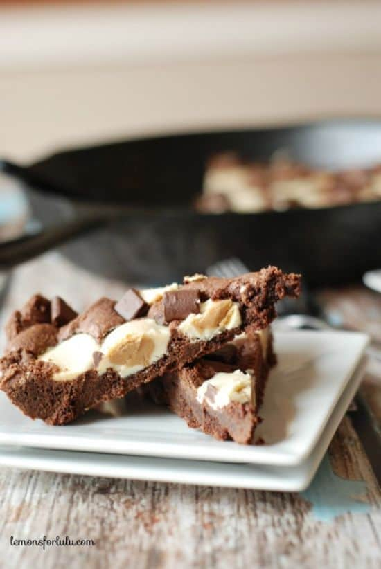 Chocolate-Peanut-Butter-Skillet-Cookie-2-700x1046