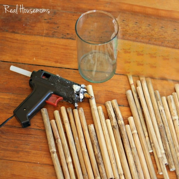 DIY Twig Vase | Real Housemoms