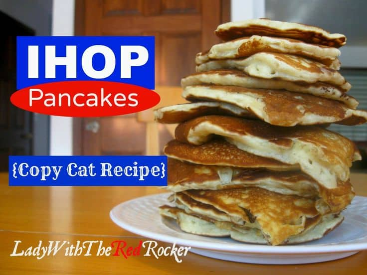Copy Cat IHOP Pancake Recipe