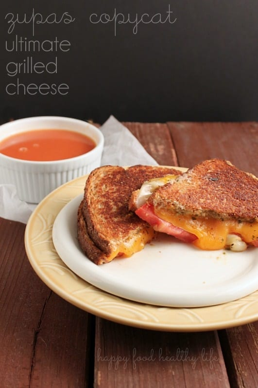 Copycat Zupas Ultimate Grilled Cheese